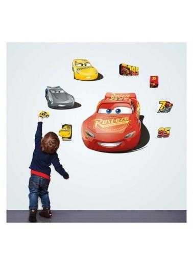 Disney Disney Cars Duvar Stickerı 68X48 Cm Renkli
